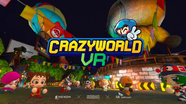 SKT가 넥슨∙픽셀리티게임즈와 협력해 공동 개발한 VR멀티플레이 게임 '크레이즈월드VR'을 오큘러스 퀘스트 전용 게임으로 9일 공식 출시한다.